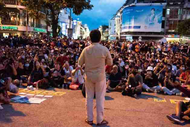 Anon Nampa Thailand Student Protest Chiang Mai WIll Langston 2