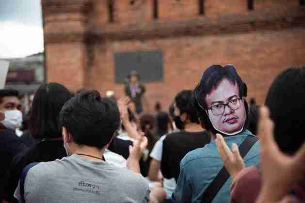 Anon Nampa Thailand Student Protest Chiang Mai WIll Langston 3