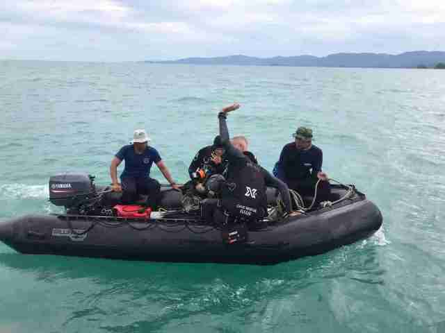 Koh Tao Divers Team Samui Ferry Sinkinng Accident Thailand11