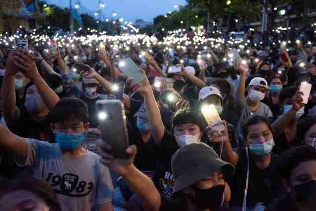 Thailand Student Pro-Democracy Protests August 16 Bangkok 2