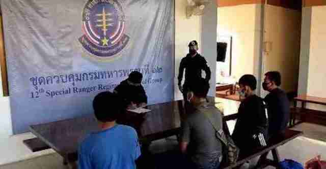 Cambodians Arrested after Sneaking in for Jobs