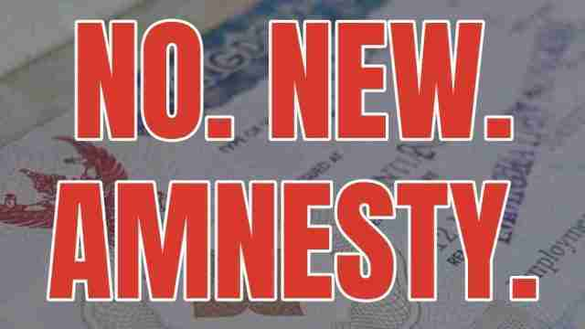 No New Thai Visa Amnesty Thailand Immigration