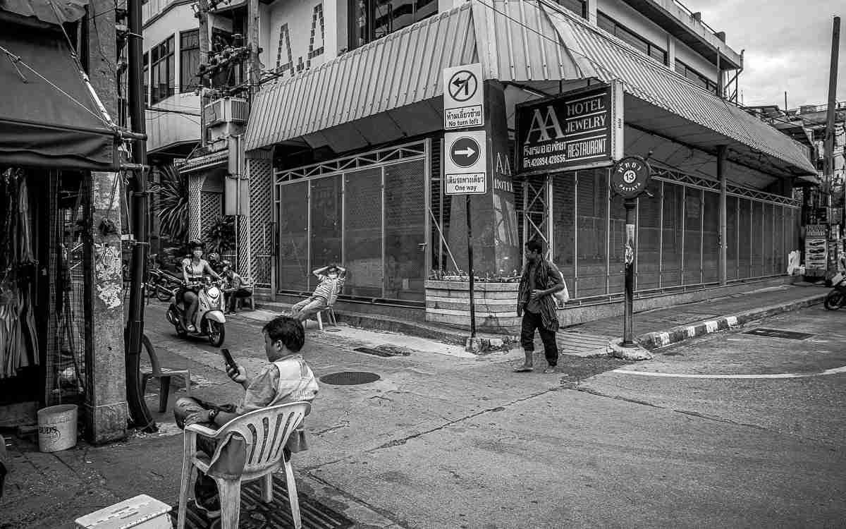 Forget the bars: Pattaya has suffered a total collapse of its retail and service sectors, from gem shops to motorcycle taxis. (Photo: Bangkok Herald)