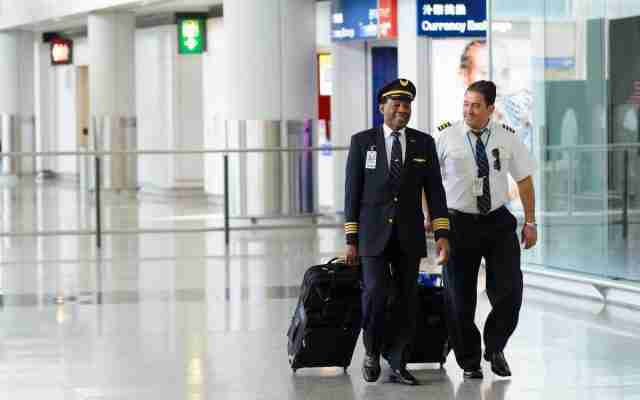 Airline Pilots Airport