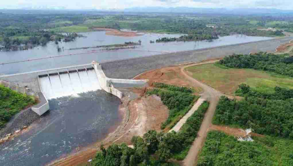 The Xe-Pian Xe-Namnoy hydroelectric project where a dam failed in Laos in 2018.