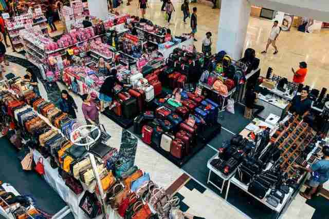 Thais can get up to 3,000 baht from the government for shopping at designated retailers through December.