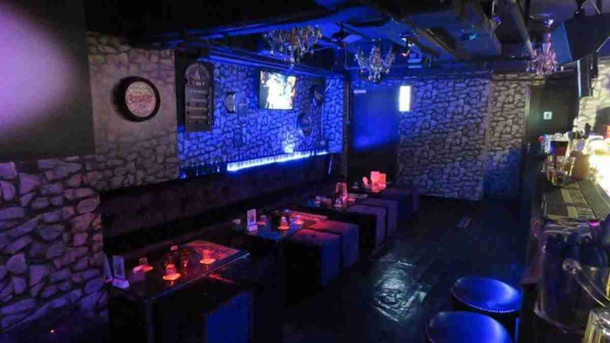 Inside Club Bro, the licensed front for China Secret hostess bar.