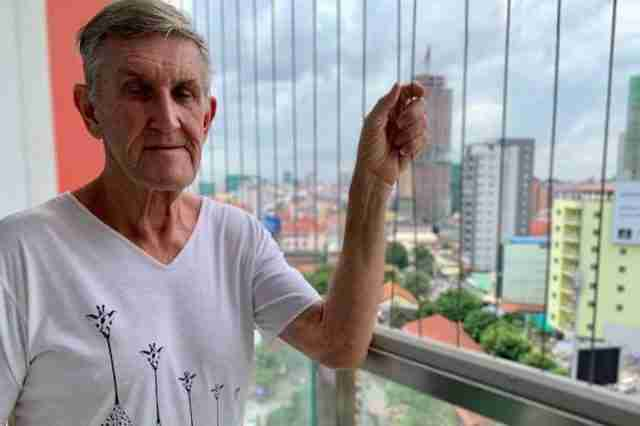 Garry Mulroy says he was the victim of an extortion racket in Cambodia
