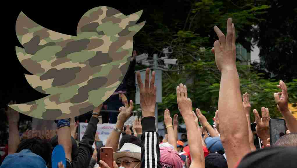 Twitter Thai Army Democracy Protests Disinformation