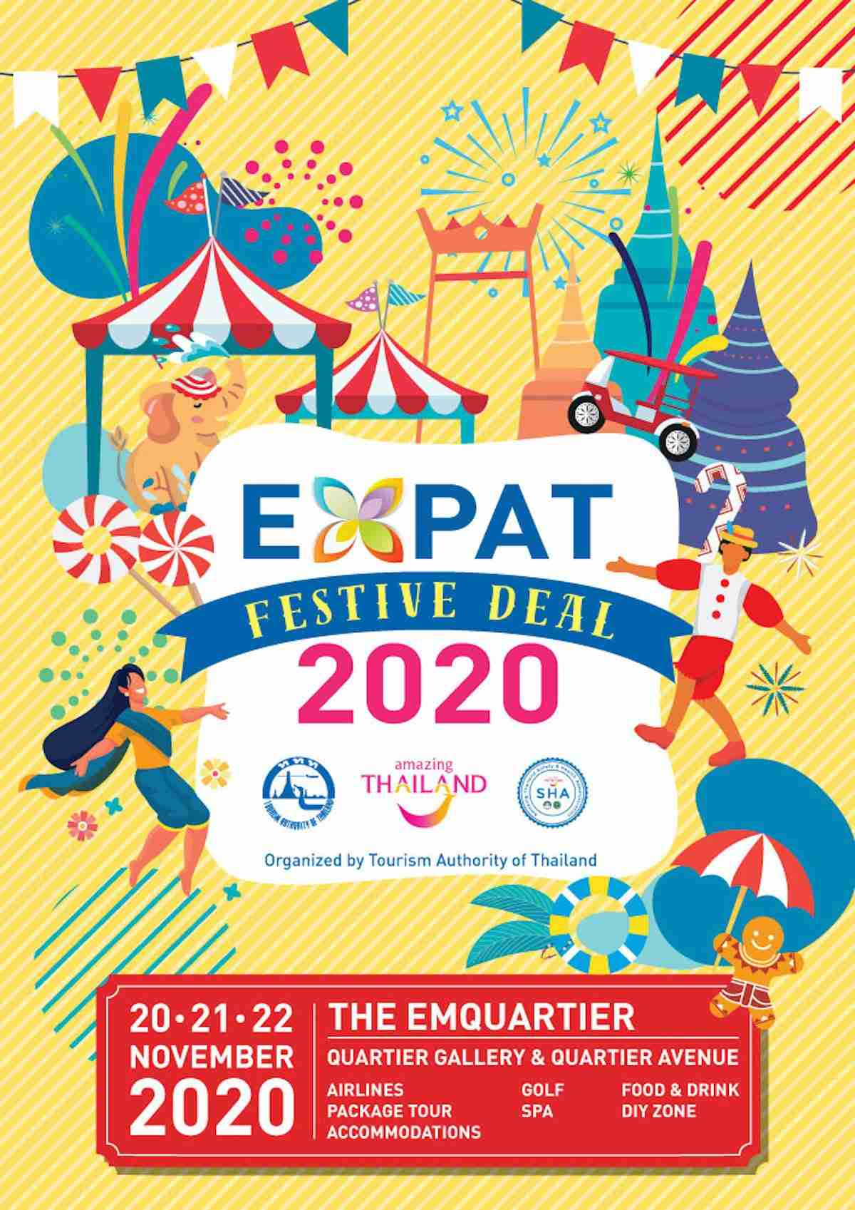Expat Festive Deal 2020 Offers Travel, Holiday Promos for Foreigners Nov. 20-22