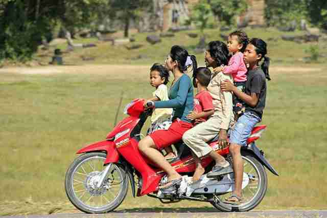 Overloaded bikes and no helmets are leading causes of death among Thai motorcyclists.