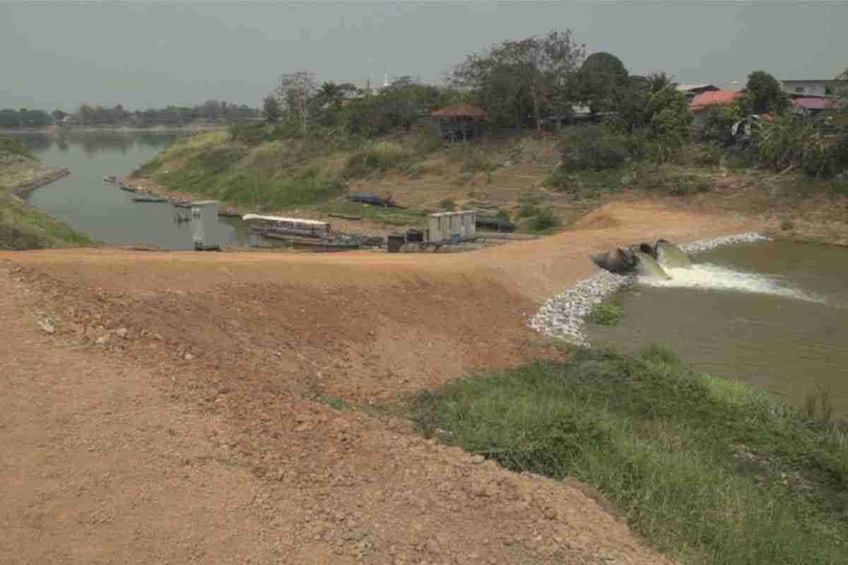 Drought conditions are expected to return to the Mekong River in Nong Khai.