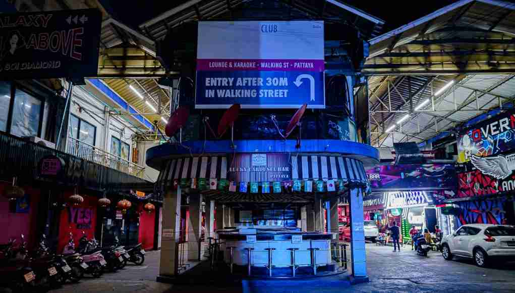 Pattaya's already devastated Walking Street suffers another blow with the new year shutdown.