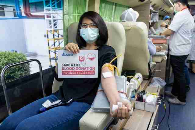 Blood donation Thailland Thai Red Cross Society