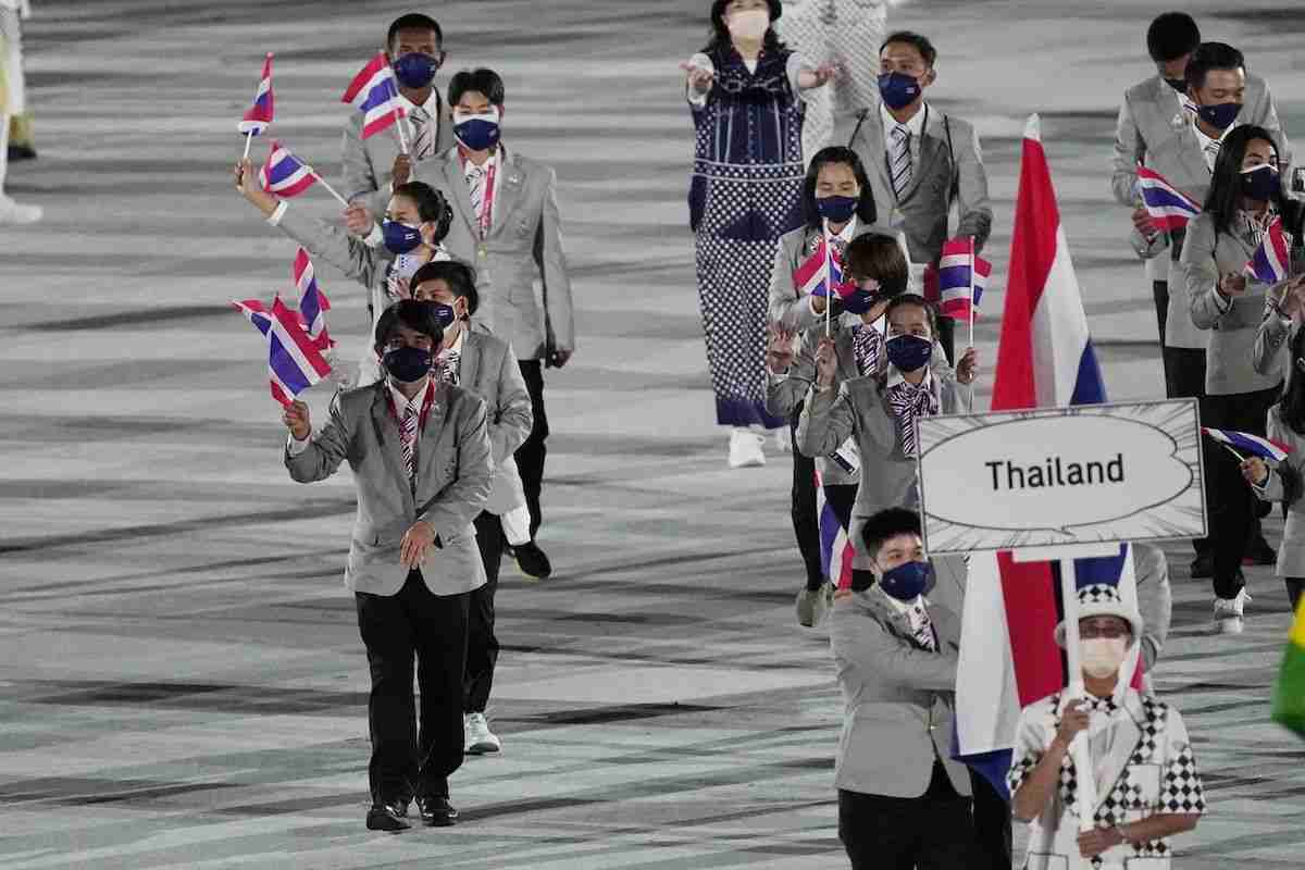 Thailand Olympics Tokyo Delegation Team Opening Ceremony