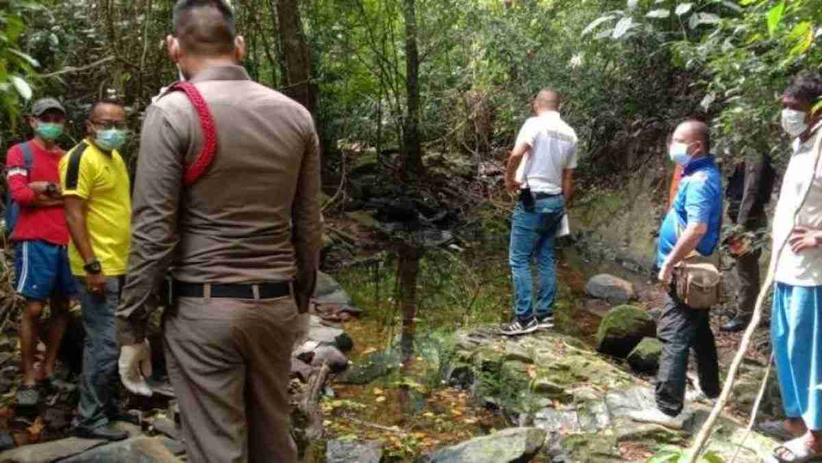 The partially nude body of Swiss tourist Nicole Sauvain-Weisskopf, 57, was found at the rocky base of the Ao Yon Waterfall on Phuket's eastern coast Aug. 5.