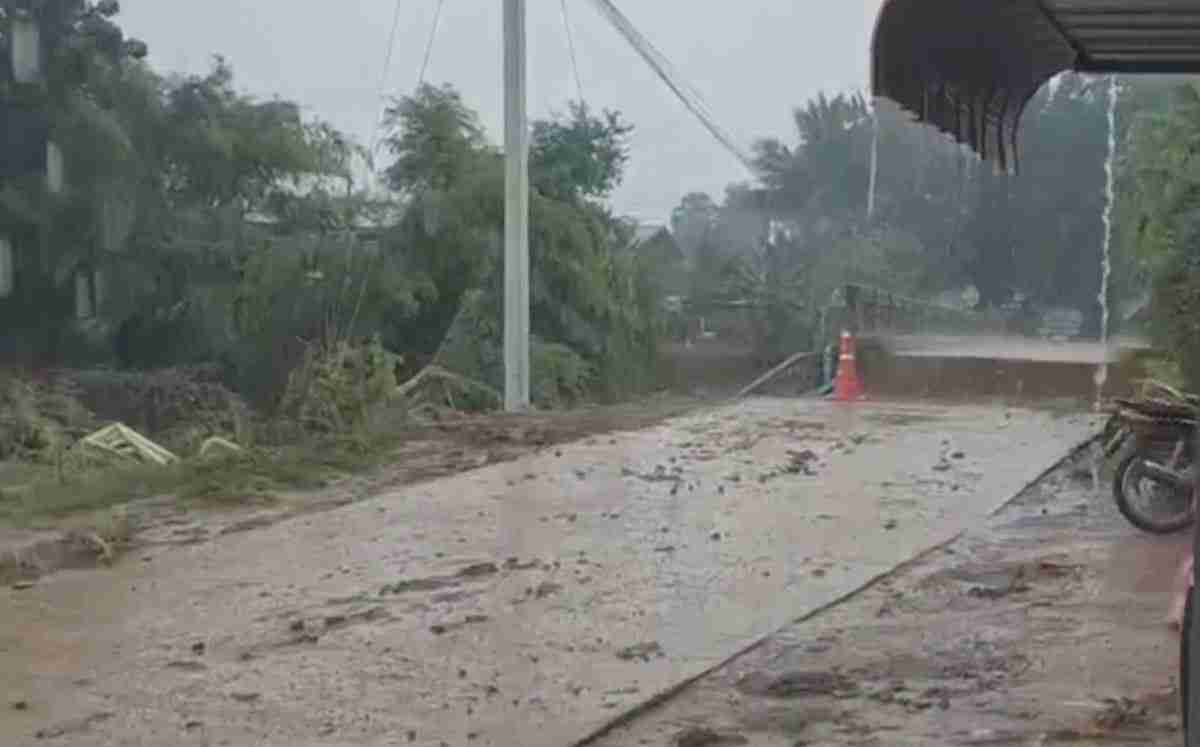 Phetchabun's Lom Kao District was hit by the worst flooding in a century last week.